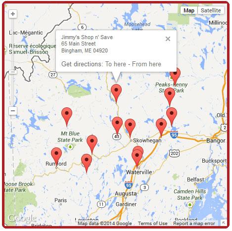 Hannaford-Locations