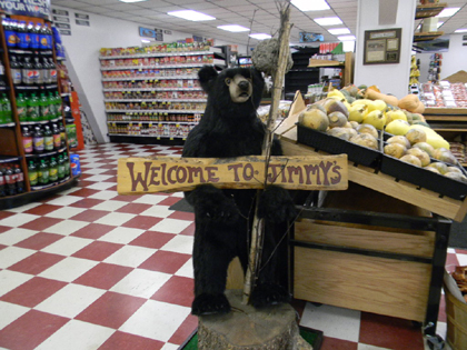 Welcome to Jimmy's Shop'n Save, Bingham Maine